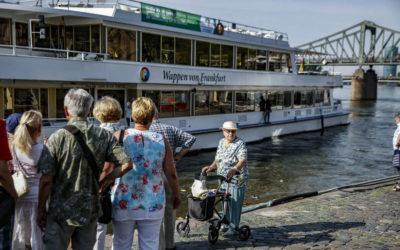Wieder auf dem Main auf großer Fahrt mit der FR-Altenhilfe